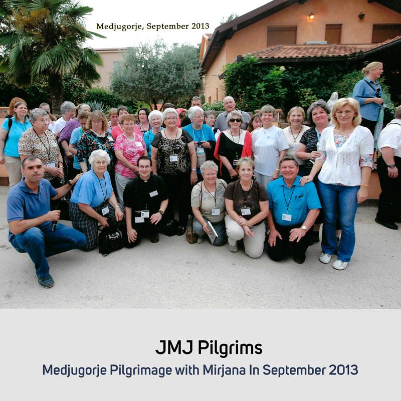 JMJ Pilgrims in September 2013 Medjugorje