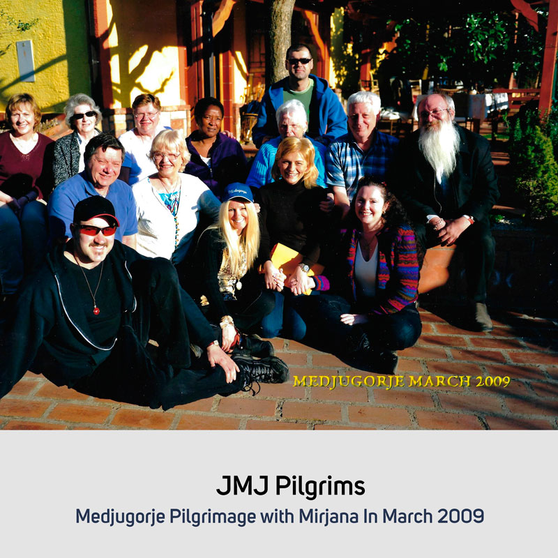 JMJ Pilgrims in March 2009 Medjugorje
