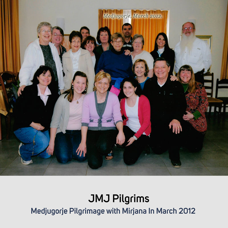 JMJ Pilgrims in March 2012 Medjugorje