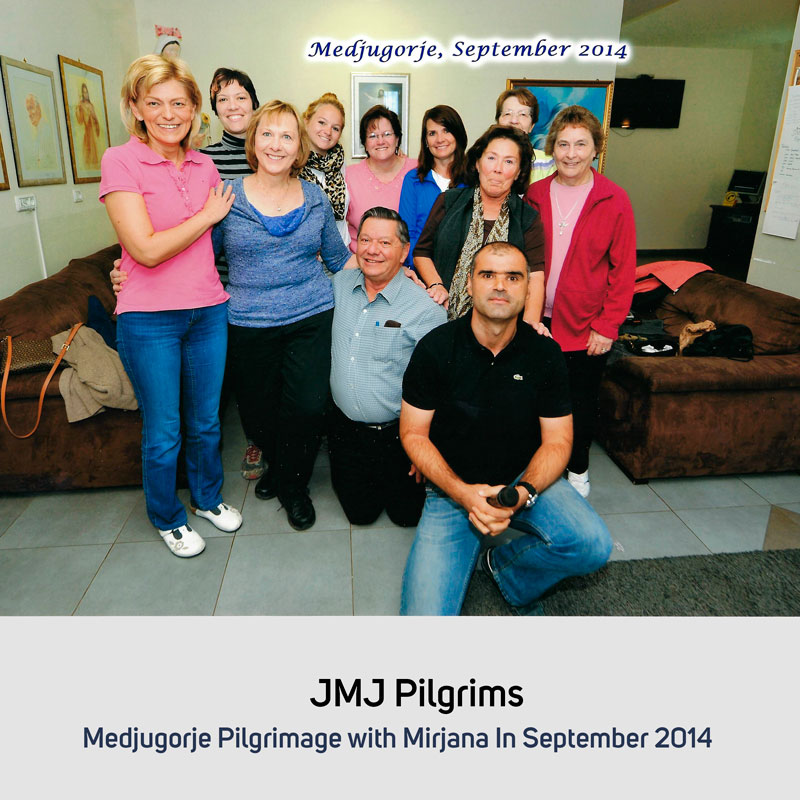 JMJ Pilgrims in September 2014 Medjugorje