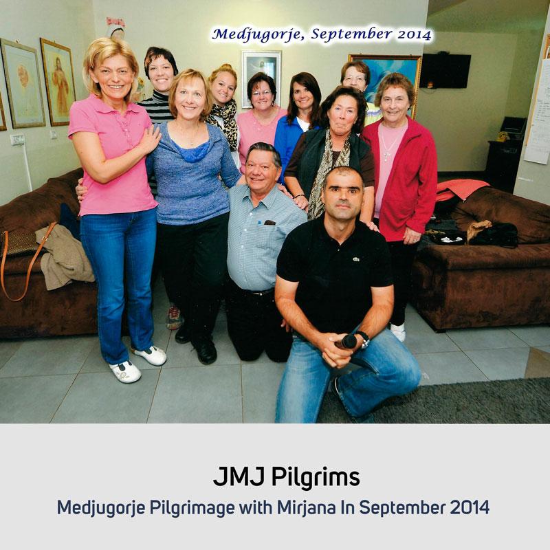JMJ Pilgrims in September 2014 Medjugorje