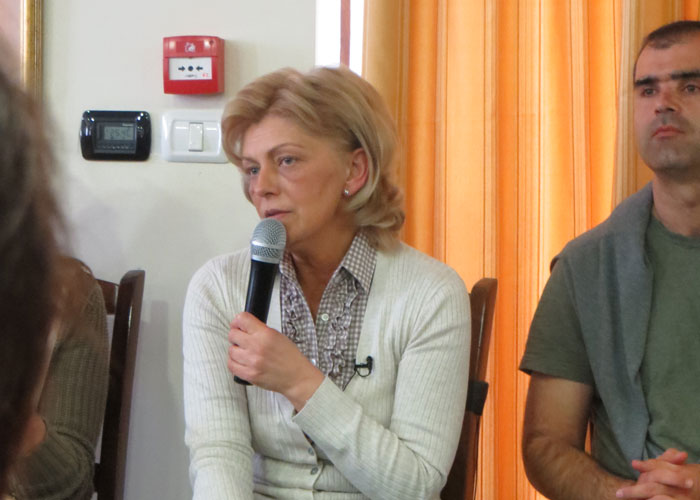 JMJ Pilgrims - Visit with Mirjana